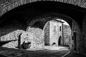 foto of foreshortening  - Houses At Assisi - JPG