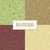 Seamless bugs pattern