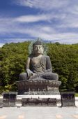 pic of seoraksan  - Sitting Buddha in Seoraksan National Park South Korea - JPG