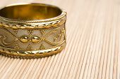 foto of dowry  - Gold bangle for a valentine gift indian - JPG