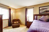 image of master bedroom  - Master bedroom interior - JPG