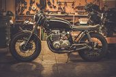 foto of carburetor  - Vintage style cafe - JPG
