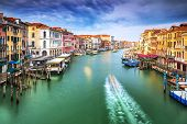 picture of colorful building  - Beautiful Venice city on sunny day - JPG