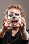 image of walking dead  - Halloween or horror concept  - JPG