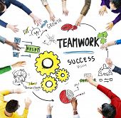 picture of collaboration  - Teamwork Team Together Collaboration Meeting Brainstorming Working Concept - JPG