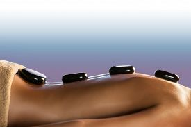 foto of stone-therapy  - Stone therapy  - JPG