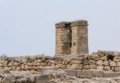 stock photo of sevastopol  - Big bell in the Chersonesus in Crimea near Sevastopol - JPG