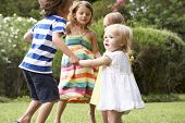 pic of 16 year old  - Group Of Children Playing Outdoors Together - JPG