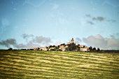 picture of plateau  - Provence landscape - JPG