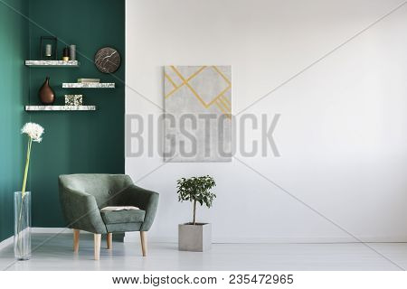 poster of Dandelion In Living Room Interior