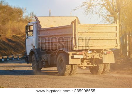 The Old Russian Dump Truck