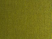 Flax Green Linen Canvas Background Or Texture. Fabric Green Olive Color Pattern. Grunge Natural Line poster