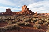 Valley Of The Gods Is Located In Southern Utah On Bureau Of Land Management Land Near Bears Ears Nat poster