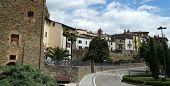 Townscape Of Monte San Savino, Province Of Arezzo, Tuscany, Italy. poster