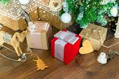 Christmas Zero Waste,eco Friendly Packaging.celebration Of Christmas, Eco, Eco-decor poster