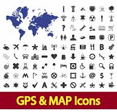 Gps & Map Icon