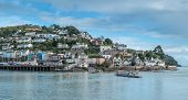 pic of dartmouth  - Kingswear ferry crossing to Dartmouth in South Devon - JPG