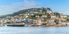 picture of dartmouth  - Kingswear crossing ferry point to Dartmouth in Devon - JPG