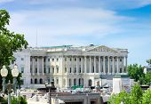 picture of house representatives  - front view of House of Representatives Washington DC USA - JPG