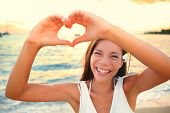 stock photo of shapes  - Love vacation  - JPG
