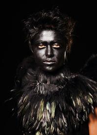 picture of azazel  - Woman with harpy makeup  - JPG