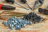 image of pliers  - Construction tools - JPG