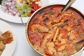 picture of thai cuisine  - Tom Yum Goong  - JPG