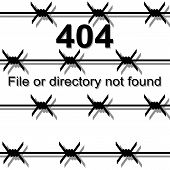 stock photo of not found  - Barbed wire - JPG