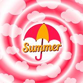 stock photo of dizziness  - Summer  swirl - JPG