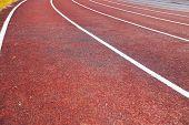 pic of track field  - Running track  - JPG