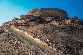 pic of zoroastrianism  - Towers of silence  - JPG