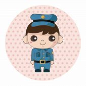 pic of policeman  - Policeman Theme Elements - JPG