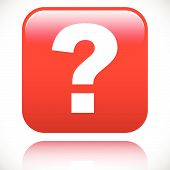 foto of riddles  - 3D red question mark graphics for related concepts - JPG