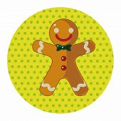 picture of ginger man  - Gingerbread Man Theme Elements - JPG