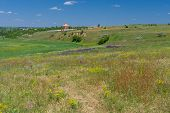 stock photo of dnepropetrovsk  - Colors of summer country in central Ukraine near Dnepropetrovsk city - JPG