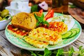 stock photo of greek  - Greek cuisine dishes  - JPG