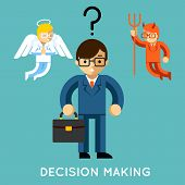 foto of demons  - Decision making - JPG