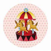 image of amusement  - Amusement Park Facilities Theme Elements - JPG