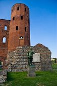 foto of turin  - Palatin Towers and archeological excavations in Turin - JPG
