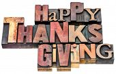 stock photo of thanksgiving  - Happy Thanksgiving sign or greeting card  - JPG