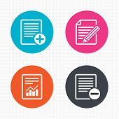 picture of squares  - Circle buttons - JPG