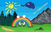 Постер, плакат: Rainbow eps