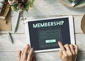 Member Log in Membership Username Password Concept poster
