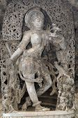 image of vijayanagara  - an intricate design in an ancient hindu templean intricate design in an ancient hindu temple - JPG
