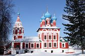 image of uglich  - Church of the Prince Dimitry - JPG