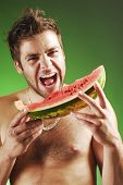 Man With A Watermelon