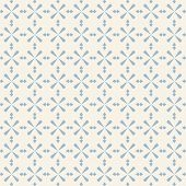 Vector Geometric Vintage Ornament. Abstract Seamless Pattern In Soft Pastel Colors, Blue And Beige.  poster