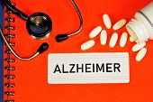 Alzheimers-senile Dementia, A Neurodegenerative Disease, Is Found In People Over 65 Years Of Age. S poster