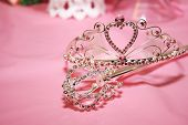 foto of quinceanera  - Tiara used to crown a quinceanera on her special day - JPG