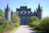 picture of duke  - Inveraray Castle is an estate house near Inveraray in the county of Argyll - JPG